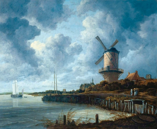Jacob van Ruisdael - The windmill at Wijk bij Duurstede