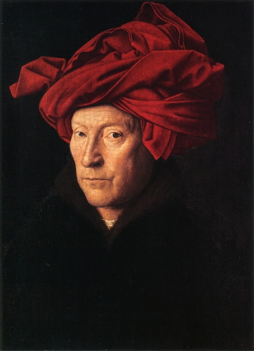 Jan van Eyck - Portrait of a Man