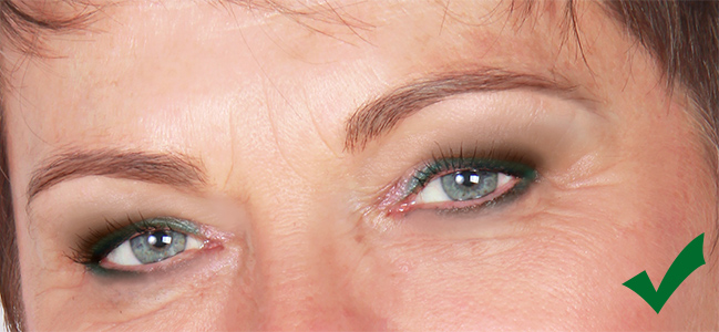 Alul hangsúlyos szemkihúzás